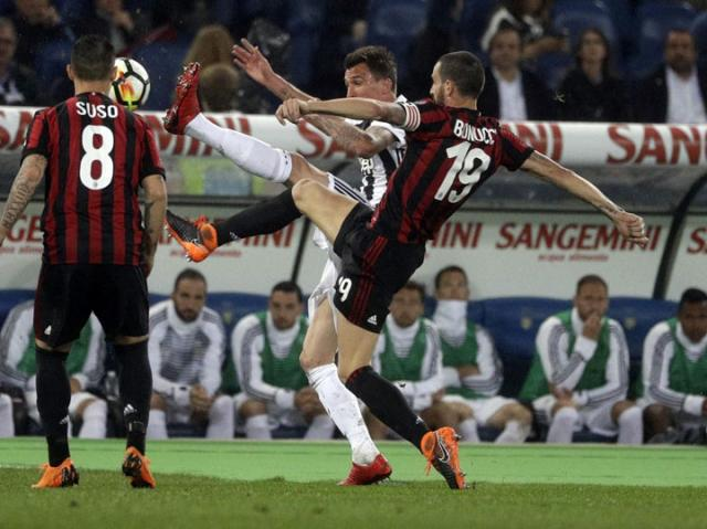 Juventus Milan/Fonet