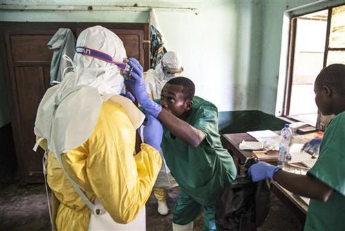 Ebola, Kongo Foto: Mark Naftalin/UNICEF via AP