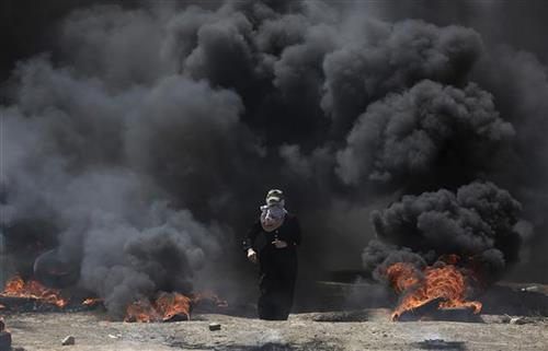 Sukob u Gazi Foto: AP Photo/Khalil Hamra