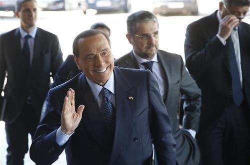 Silvio Berluskoni, forca Italija Foto: AP Photo