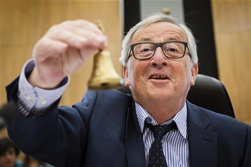 Žan-Klod Junker Foto: AP Photo/Geert Vanden Wijngaert