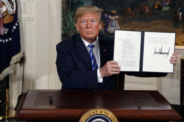 Donald Tramp potpisao nove sankcije Iranu/Fonet