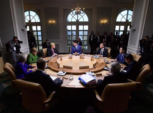 Samit G7 Foto: Sean Kilpatrick/The Canadian Press via AP