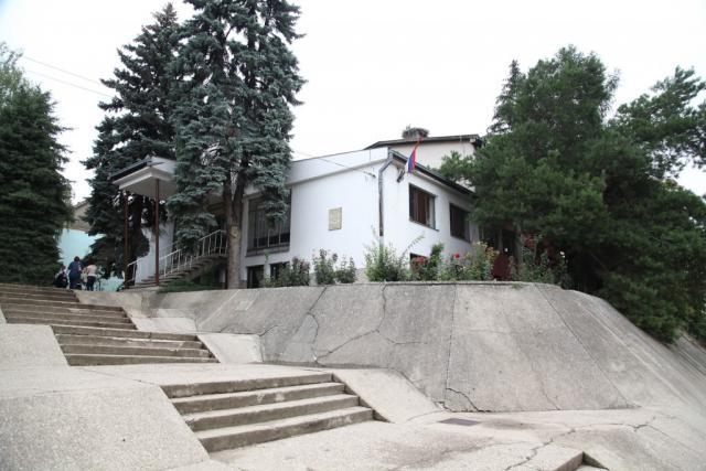 Njilas, otvaranje obnovljene skole-1