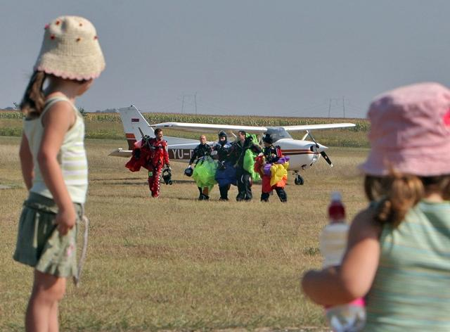 aerodrom padobranci