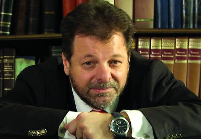 "Aleksandar Gatalica, autor romana ""Poslednji argonaut"" Foto: Dnevnik.rs"