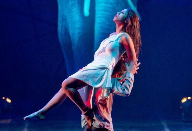 "Iz baleta ""Plavi slon""  Foto: Bassam Alzoghby"