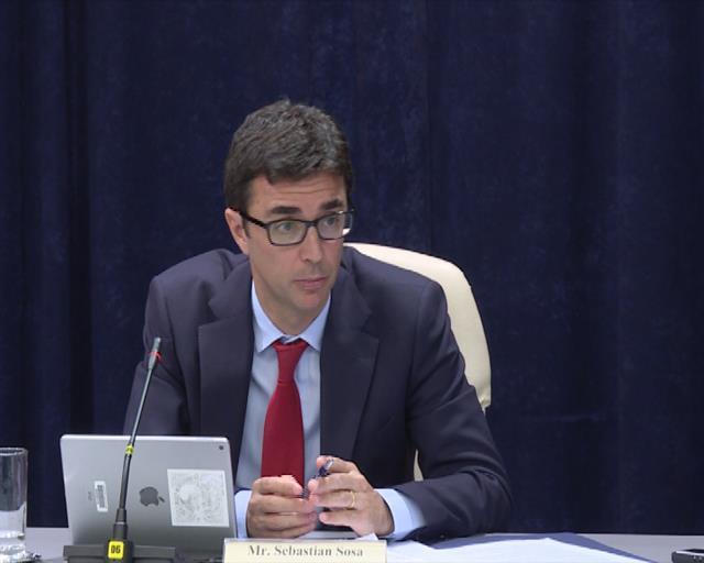 Šef kancelarije MMF u Srbiji Sebastijan Sosa Foto: Tanjug