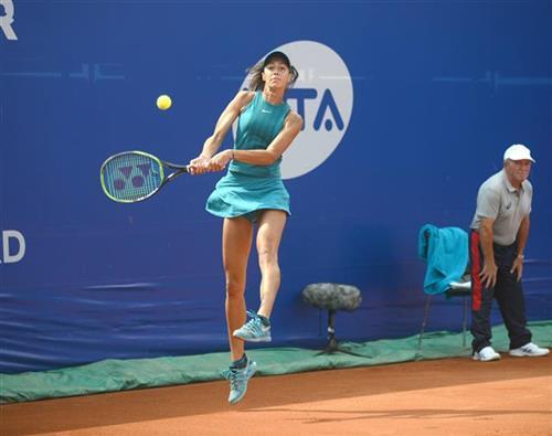 Olga Danilović na turniru u Moskvi foto: Tanjug