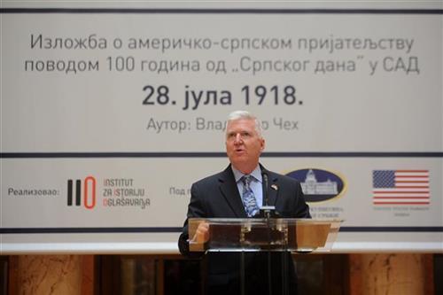 Američki ambasador u Srbiji Kajl Skat foto: Tanjug