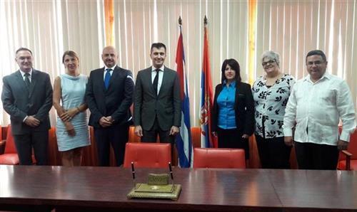 Ministar za rad Zoran Đorđević na Kubi Foto: Tanjug