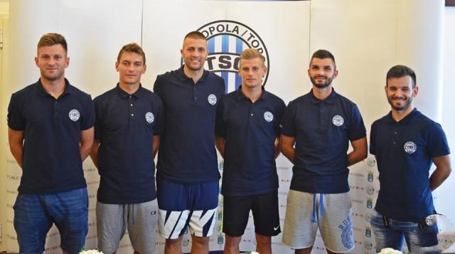 Bastajic, Varga, Filipovic, Milisavljevic, Plavšic, Pinter
