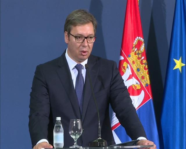 Predsednik Srbije , Aleksandar Vučić Foto: Tanjug