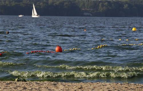 Plaža u Poljskoj Foto: AP Photo/Czarek Sokolowski
