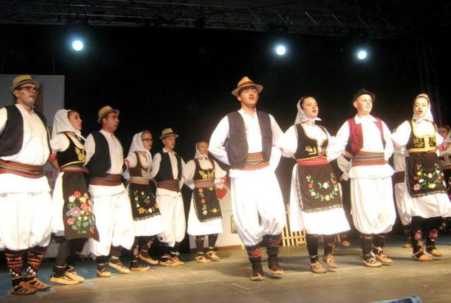 """Nastup prvog izvođačkog folklornog ansambla KUDA """"Novak Radonić"""" Foto: M. Mitrović"""