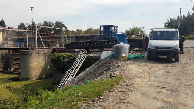 Rekonstrukcija prevodnica kod Sombora/Vode Vojvodine