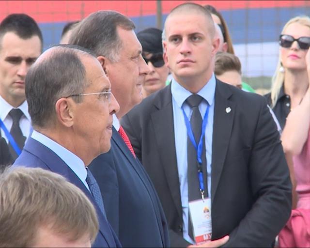 Dodrik i Lavrov Foto: Tanjug