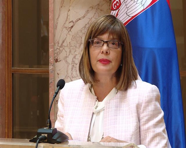 Maja Gojković, Skupština Srbije Foto: Tanjug
