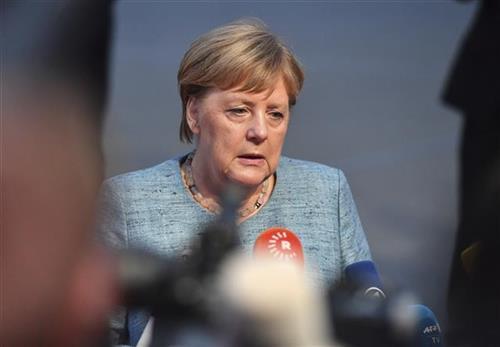 Nemačka kancelarka Angela Merkel Foto: AP Photo/Kerstin Joensson
