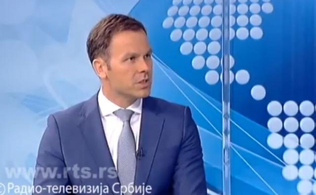 Ministar finansija Srbije Siniša Mali Foto: rts.rs/printskrin