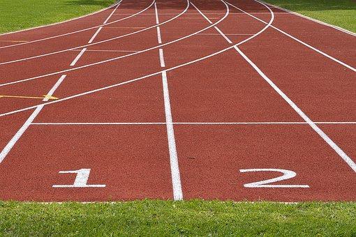 atletska staza pixabay