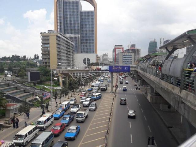 U centru Adis Abebe foto: A. Beljin