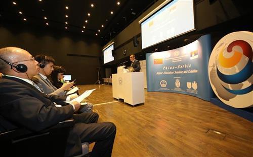 Seminar i sajam visokog obrazovanja Kine i Srbije u Novom Sadu Foto: Tanjug