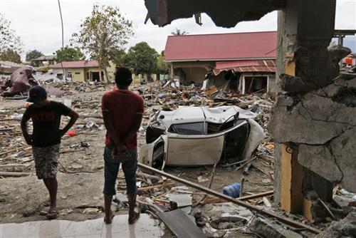 Zemljotres na Baliju Foto: AP Photo/Dita Alangkara
