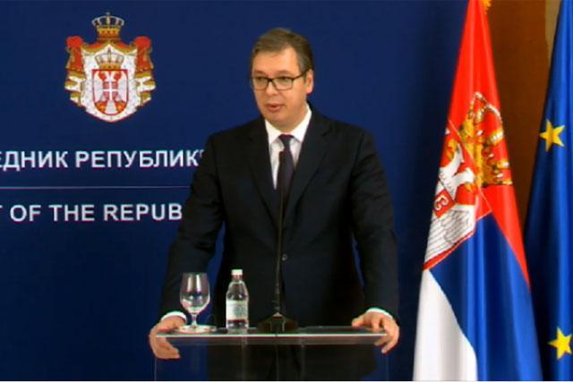 Predsednik Srbije , Aleksandar Vučić Foto: Tanjug/video
