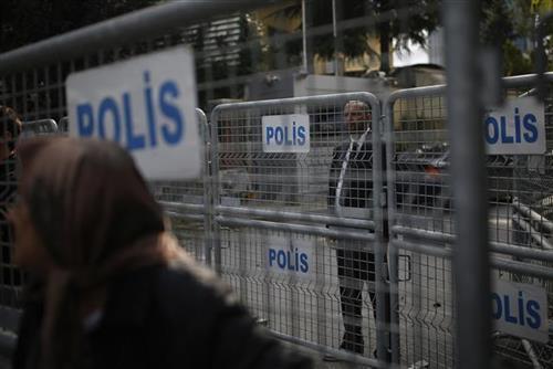 Konzulat Saudijske Arabije u Istanbulu Foto: AP Photo/Emrah Gurel