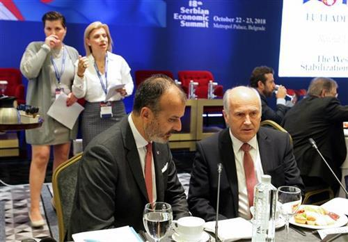 Šef delegacije EU u Srbiji Sem Fabrici Foto Tanjug/S.Radovanović