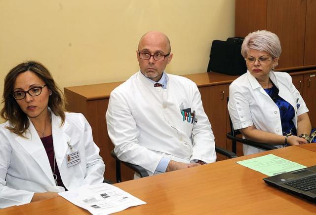 Dr Radmila Matijević, dr Vladimir Harhaji i dr Edita Stokić Foto: F. Bakić