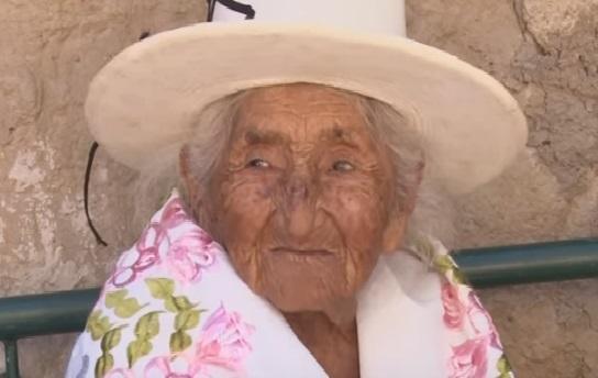 najstarija bolivijka