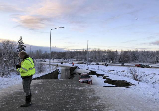 Aljaska cunami/Fonet/AP