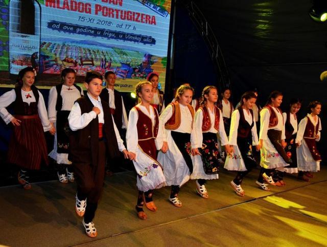 """Nastup folklornog ansambla KUD """"Zmaj"""" iz Iriga Foto:Opština Irig"""