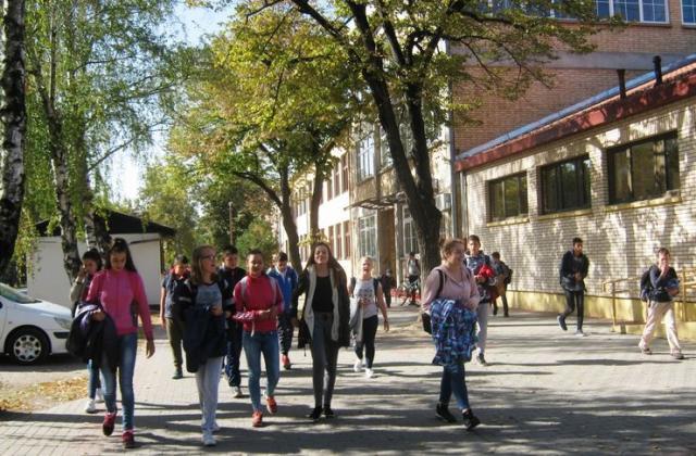 Đaci nastavu prate na srpskom i mađarskom jeziku Foto: M. Mitrović