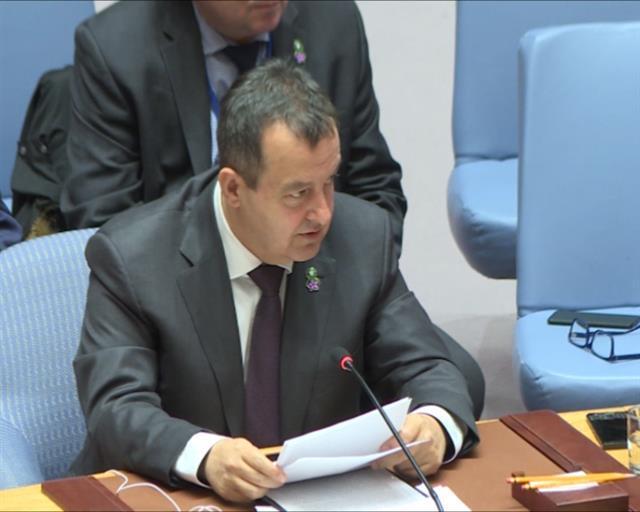 Ivica Dačić na sednici SB UN Foto: Tanjug/video