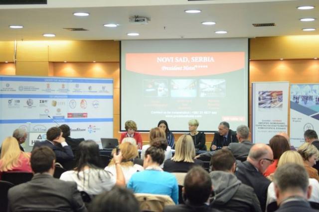 Uspešni poslovni susreti vojvođanskih privrednika u Solunu Foto: Privredna komora Vojvodine