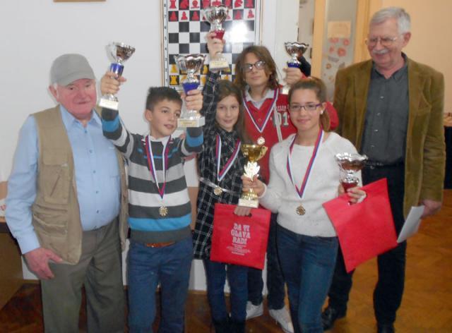NSK Dame Anja, Teodora, Milan i Andrej