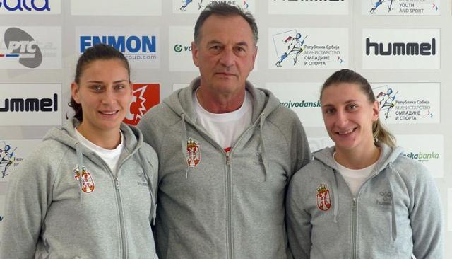 Selektor Obradović sa Slađanom Pop Lazić i Tamarom Georgijev/RSS