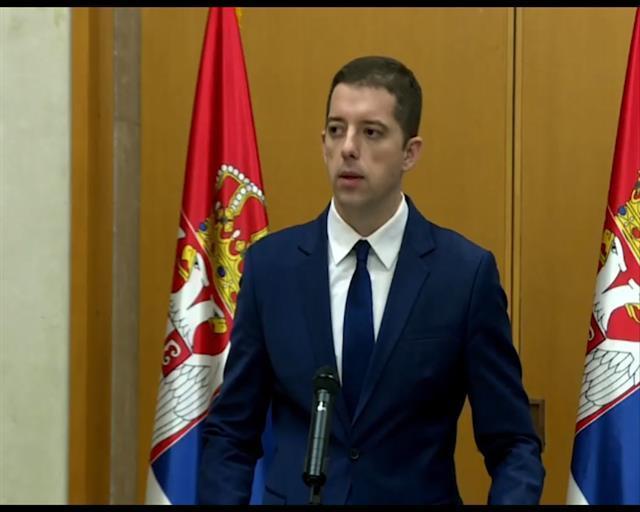 Direktor Kancelarije za Kosovo i Metohiju Marko Đurić Foto: Tanjug/video
