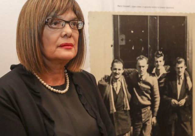 Maja Gojković, ćerka čuvenog advokata Mite Gojkovića Foto: R. Hadžić