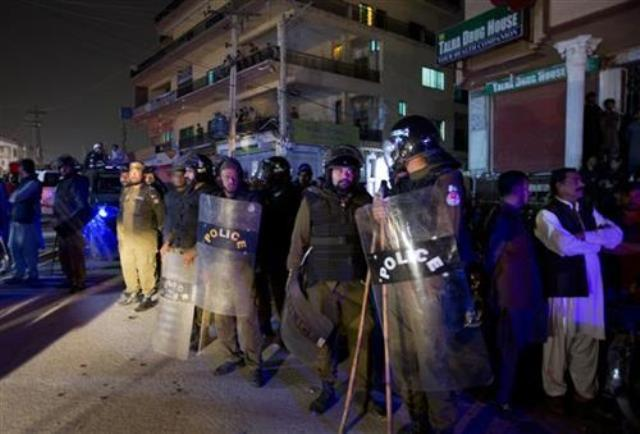 pakistan policija