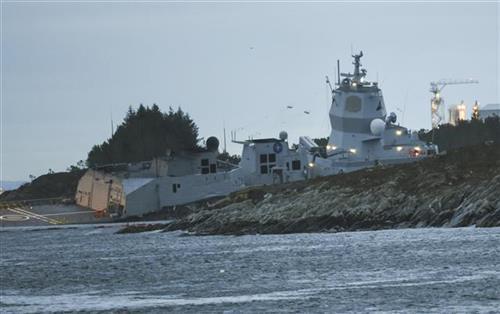 Norveška mornarica Foto: Marit Hommedal/NTB Scanpix via AP