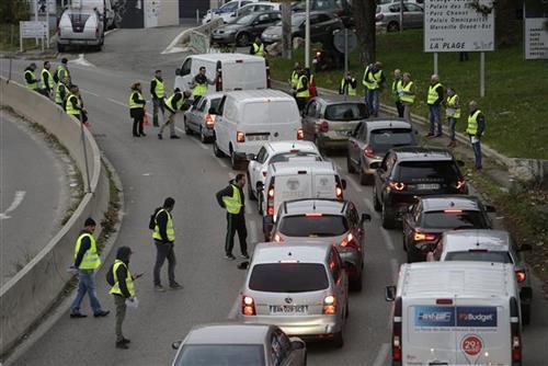 Protesti u Parizu Foto> Tanjug/AP photo