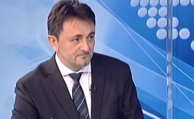 """Direktor """"Telekom Srbija"""" Predrag Ćulibrk na RTS-u Foto: rts.rs/skrinšot"""