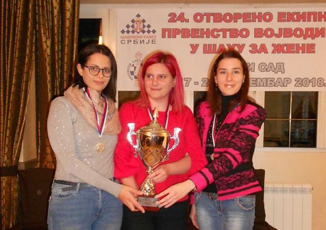 Šampionska ekipa Novosadskog šahovskog kluba Foto: privatna arhiva