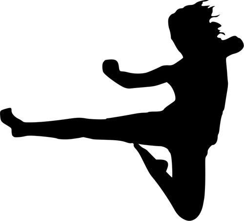Karate ilustracija
