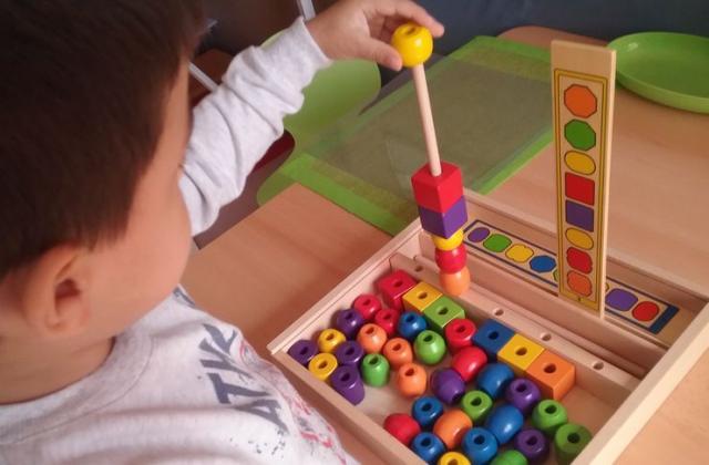 Igračka treba dete da podstiče i razvija njegove potencijale Foto: privatna arhiva V. Trivić