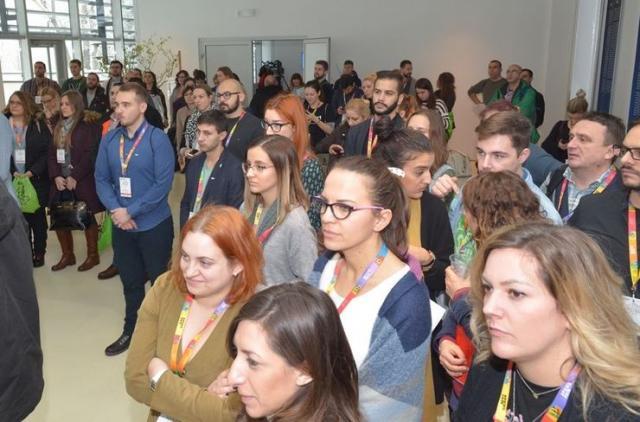 """Prvi """"Opens 2019 fundcon"""" otvoren u Rektoratu UNSFoto: Skupština Grada"""